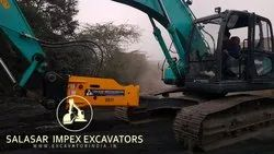 SI-BREAK Hydraulic Rock Breakers For Excavators