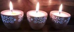 Terracotta Pot Candle