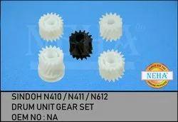 Drum Unit Gear Set  Sindoh N410 / N411 / N612