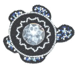 Tortoise Beaded Patches