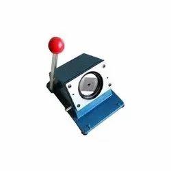 Round Card Cutter Machine