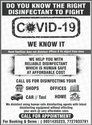 and Residential Sanitation Service,Disinfectation services - Covid 19