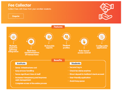 Online/Cloud-based Online Fee collector software, weblogin, For Windows