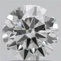 1.50ct Lab Grown Diamond CVD F SI1 Round Brilliant Cut IGI Certified Stone