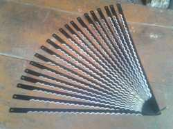 Carbon Steel Black Slicer Blades, Available Sizes: 12 Inch