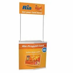 Portable Promotional Display Stand