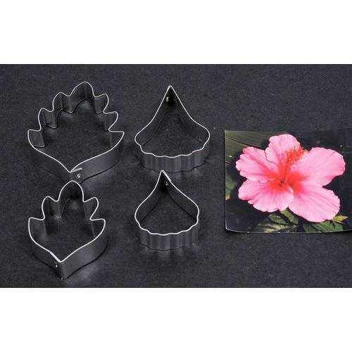 Hibiscus Sugar Craft Clay Making Flower Cutter B Square Craft