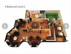 Bedroom Duplex Building Construction Services