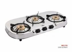 MC-310 Oval Three Burner Stove