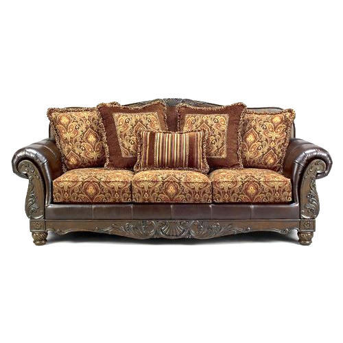Fancy Wooden Sofa Set