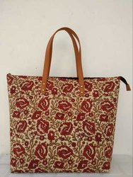 Printed Cotton Hand Bag