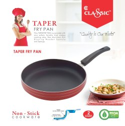 Fry Pan with SS Lid