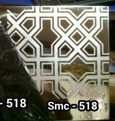 Super Mirror Finish Etched Stainless Steel Sheets
