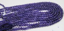 AAA Quality Natural Amethyst Round Beads