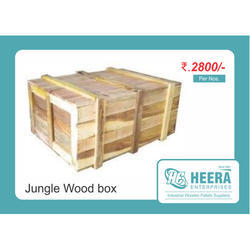 Jungle Wood Packaging Case