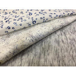 Printed Basic Linen Shirting Fabric