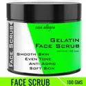 Casa Allegra 100gm Gelatin Face Scrub, Pack Size: 100 Gm, For Personal