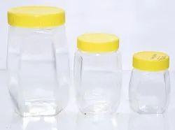 Honey Jars Hexaganol Shape