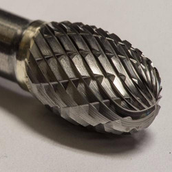 Tungsten Carbide Burr Ball Nosed Tree Shape Type F- 5.0 x 12.7 x 3mm Shank