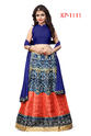 Banglori Satin Digital Print Indian Lehenga Choli
