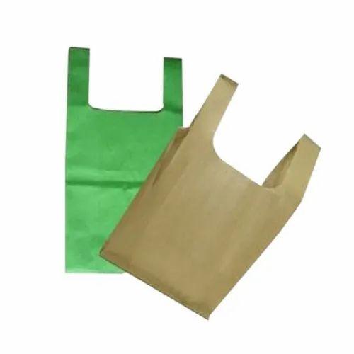 U Cut Non Woven Color Carry Bag