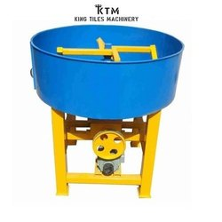 Semi Automatic Concrete Pan Mixer Machine