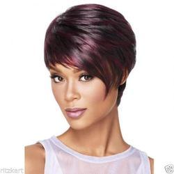 30cm Fluffy Bob Synthetic Women Short Hair Wig