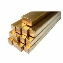 Bhavani Golden Brass Square Rod, For Industrial
