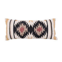 Colorful Boho Embroidery Pillow Cover