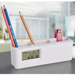 T-12 Space Saver Clock With Tumbler Table Clock