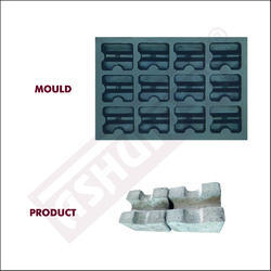 Small Cover Block Mould 20, 25, 30mm (12 Pcs X 1)