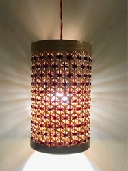 Cfl handmade bamboo lamp shade pineapple violet rs 1200 piece cfl handmade bamboo lamp shade pineapple violet mozeypictures Gallery