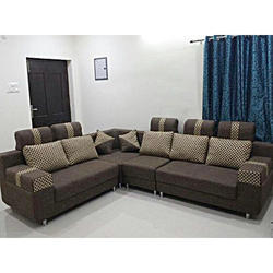 L Shaped Sofa L Shaped Leather Sofa Manufacturer from Hyderabad