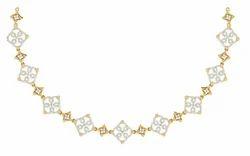 Tanishq Diamond Necklaces - Tanishq Diamond Necklaces Latest Price