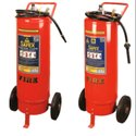 Safex Trolley Mounted Mechanical Foam Type Fire Outer Cylinder Type- 50 Ltrs