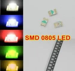 SMD LED 0805 Red / Green / Parrot Green / Yellow / Blue / Amber / Orange / White