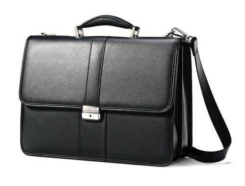 Black Executive Leather Bag