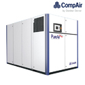 Compair D250rs-10 250 Kw Regulated Speed Two Stage Oil Free Screw Compressor