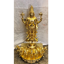 Brass Sun God With Horses / Surya Dev Idol