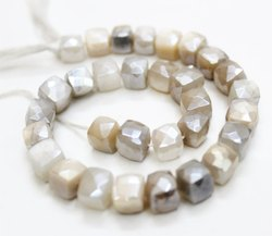 24 Faceted Crystal Beads with Mystic Rainbow Finish 7mm Round