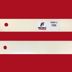 Ivory 2 Edge Band Tape