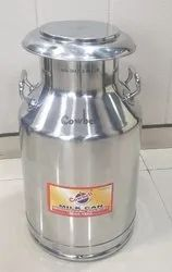 Stainless Steel Milk Can 40 Litre 304 Grade