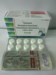 Paracetamol, Phenylephrine, Diphenylhydramine & Caffeine