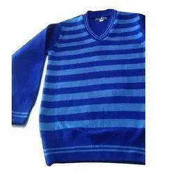 Meghdoot Winter Striped School Sweater
