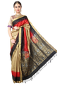 Multicolour Women South Pure Silk Saree
