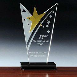 Star Club Crystal Trophy