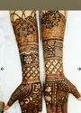 Full Leg Bridal Mehndi Design Service