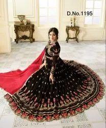Fancy Floor Length Anarkali Suits