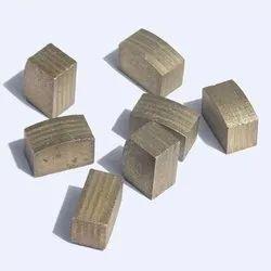 Sanwa Diamond Spare Segments for Granite Block Cutting