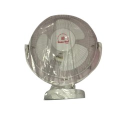 White Plastic Home Star Wall Mounted Electric Fan